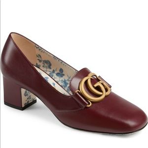 Gucci loafer pump
